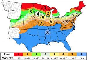 Partners Brand Corn Adaptation Zone Map